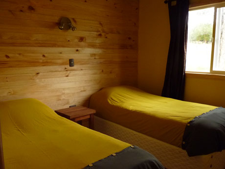 double twin room of the cabin